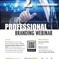 Top 10 Professional Ways to Market Yourself Online Webinar