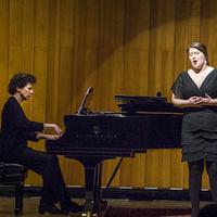 Student Recital: Adam Guadalupe, piano, and Sydney Barnett, mezzo