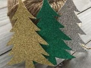 Christmas tree cutouts