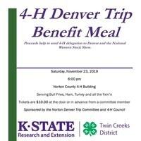 Denver Trip Benefit Meal