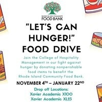 Let's CAN Hunger Food Drive