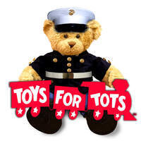 Annual Toys for Tots Drive-Thru at Hampton Inn Waterloo