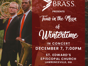 Gate City Brass presents 'Twas in the Moon of Wintertime