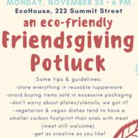 ecoFriendsgiving Flyer