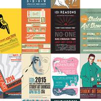 SLCC Student Art Showcase Poster CONTEST
