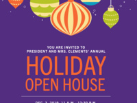 Holiday Open House, 11 a.m.-12:30 p.m. Tuesday
