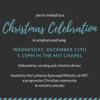 Christmas Celebration in Scripture, Prayer, and Song
