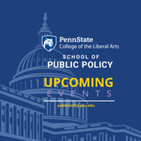 School of Public Policy Info Table