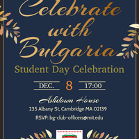 Bulgarian Student Day Celebration