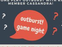 Canceled: Outburst Game Night!