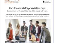 Clemson Faculty and staff appreciation day