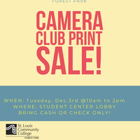Camera Club Print Sale