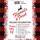"""UCR Staff Assembly Holiday Party: """"Flannels & Frost"""""""
