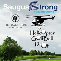 Saugus Strong Helicopter Ball Drop