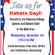 Debate Day