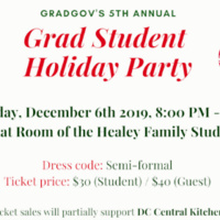 Graduate Student Holiday Party