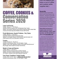 Coffee, Cookies and Conversation Series/ Ponds Maintenance: Aquatic Problems- Fish, Plants
