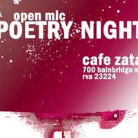 Poetry Night at Cafe Zata!