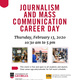 Journalism and Mass Communication Career Day