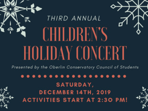 The activities include face-painting, an instrumental petting zoo, and a conducting station. Round Midnight, an acapella group from the College, will then be performing in Warner, followed by a jazz trio, and the afternoon finishes with an orchestral performance of Tchaikovsky Symphony 1, mvt. 2,