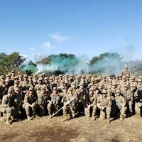Army group photo