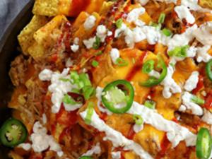 Pitt-Greensburg: Nachos & Buffalo Chicken Dip