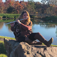 Flutist Alexandra Hill