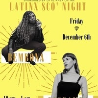 Join La Alianza Latinx with concluding our Latinx Heritage Series with AMAZING music. This years 'Sco Night will be featuring Bembona and Riobamba, DJs from New York City who are ready to drop some great beats all night long!