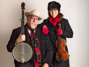 """MCTA: Joe Newberry and April Verch in """"Music of the Season From the Ottawa Valley to the Ozarks"""""""