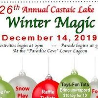 Castaic Lake Winter Magic