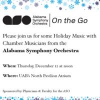 Alabama Symphony Orchestra On the Go