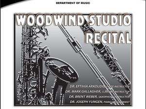 Woodwind Studio Recital poster