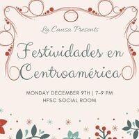 Festividades en Centroamérica