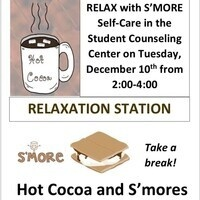 Relax with S'MORE Self-Care in the Student Counseling Center