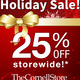 25% off Holiday Sale