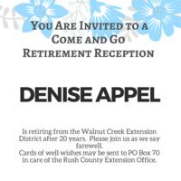 Retirment - Denise Appel