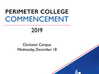 Perimeter College Commencement
