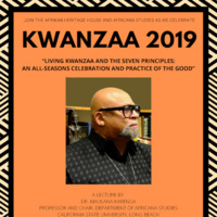 Living Kwanzaa and the Seven Principles: Maulana Karenga