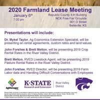 2020 RVD Farmland Lease Meeting