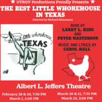"UTRGV Productions presents ""The Best Little Whorehouse in Texas"""