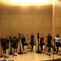 Harp Ensemble Winter Concert