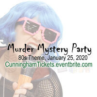 1980s mystery party