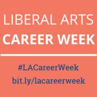 Liberal Arts Career Week: Peer to Peer Career Advice