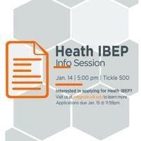 Heath IBEP Info Session
