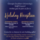Staff Council Holiday Reception