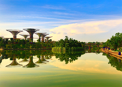 Jan 21, 2020: Genesis of Gardens by the Bay, A Garden City Story at Brian C. Nevin Welcome Center