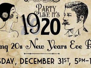 New Year's Eve invite