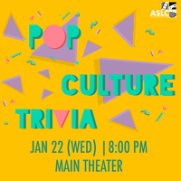 Pop Culture Trivia Night