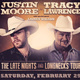 The Late Nights and Longnecks Tour featuring Justin Moore and Tracy Lawrence