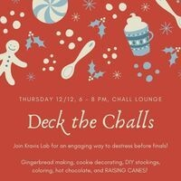 Deck the Challs: Holiday Social